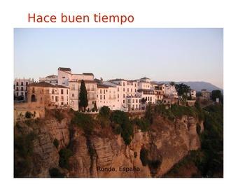Spanish Beginners' Weather Power Point