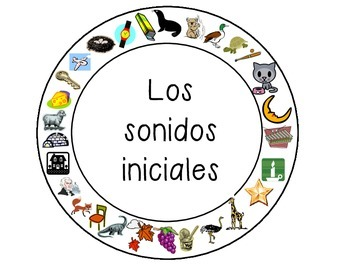 Spanish Beginning Sound Game