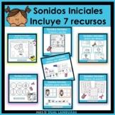 Spanish Beginning Sounds Bundle
