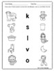 Spanish Beginning Sounds Practice Pages