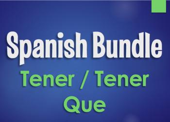 Spanish Beginning Verbs Monster Bundle