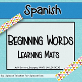 Spanish- Beginning Word Learning Mats