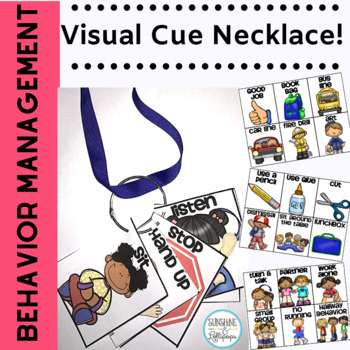 Spanish Behavior Management Lanyard Editable for any Language or Dialect