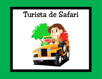 Spanish Behavior clip chart-safari
