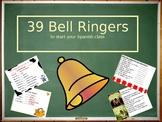 Spanish Bell Ringers / warm ups / Class starters / Bell work