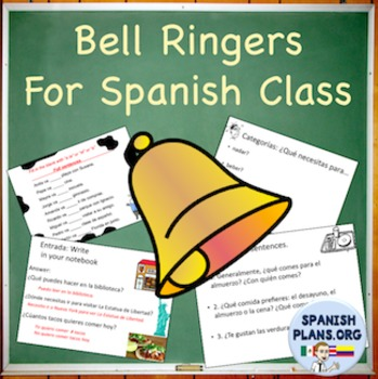 Spanish Bell Work