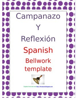 Spanish Bellwork