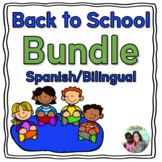 Spanish Bilingual Back to School Resources