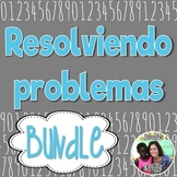 Spanish Bilingual Differentiated Word Problems *Bundle*