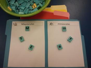 Spanish Bilingual Sorting Mayusculas y Minusculas