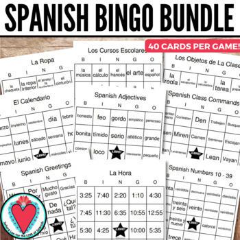 Spanish Bingo Bundle