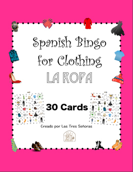 Spanish Bingo Clothing- La ropa
