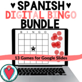Spanish Bingo Games - Digital Games for Distance Learning