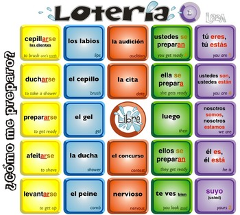 Spanish Bingo - Lotería ¿Cómo me preparo?