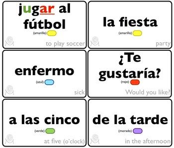 Spanish Bingo - Lotería Vamos a jugar