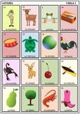 Spanish Bingo Lotería Game