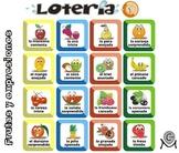 Spanish Bingo - Lotería frutas y expresiones