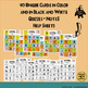 Spanish Bingo Vocabulary Game for Poder and Infinitives. La Lotería