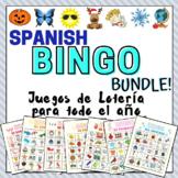 Spanish Bingo Whole Year BUNDLE Juegos de Lotería en Españ