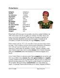 Frida Kahlo Biografía - Spanish Biography on Mexican Artist