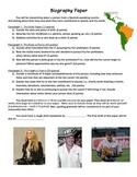 Spanish: Biography Paper