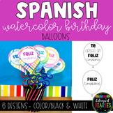 Spanish Birthday Balloons