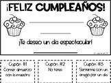 Freebie! Spanish Birthday Card