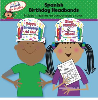 Spanish Birthday Headbands