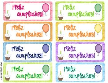 Spanish Birthday Packet