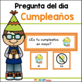 Spanish Birthday Question of the Day for Preschool and Kindergarten
