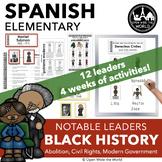 Spanish Black History Month - el mes de la historia afroamericana