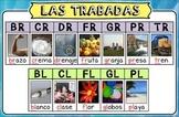 Cartel de las Trabadas con L y R / Poster of Spanish L and
