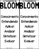 Spanish Blooms Taxonomy Stems