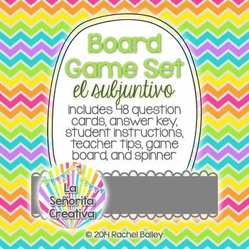 Spanish Board Game Set - Subjunctive Mood