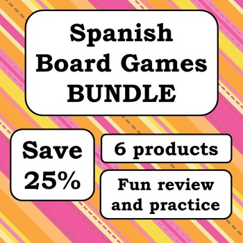 Spanish Board Games Bundle