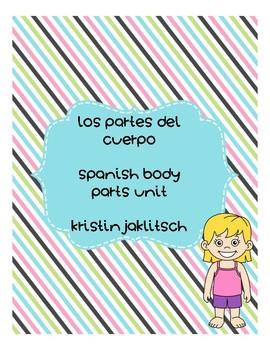 Spanish Body Parts Bundle