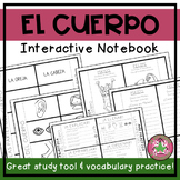 Spanish Body Parts Interactive Notebook