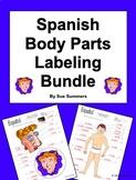 Spanish Body Parts Labeling Bundle - Cuerpo y Cara