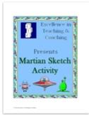 Spanish Body Parts-Martian Sketch