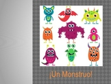 Spanish - Body Parts Monster MiniProject