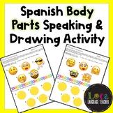 Spanish Body Parts Partner Activity