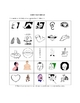 Spanish Body Parts Picture Bingo and Word FInd Puzzle