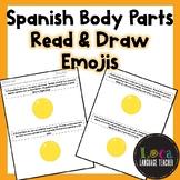 Spanish Body Parts Read & Draw Emojis