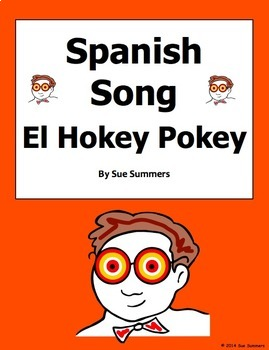 Spanish Body Parts Song - El Hokey Pokey Song