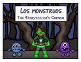 Spanish Body Parts Story - Los monstruos