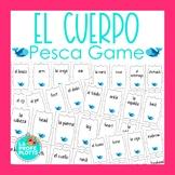 Spanish Body Parts Vocabulary Pesca Game | El Cuerpo Spani
