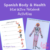 Spanish Body and Health Interactive Notebook Activities