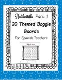 Spanish Boggle Theme Pack 1 Batiburrillo