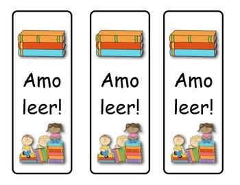 Spanish Book Marks