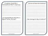Spanish Book Report
